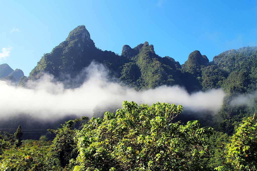 Limestone peaks, Khao Sok National park