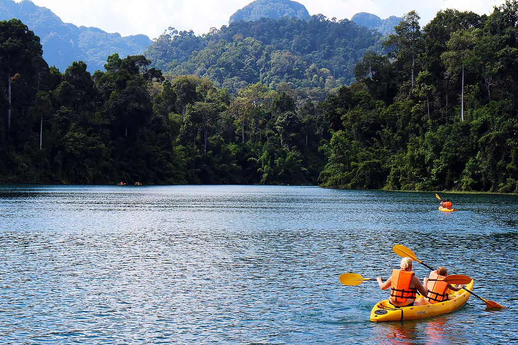 Kayaking Khao Sok National Park