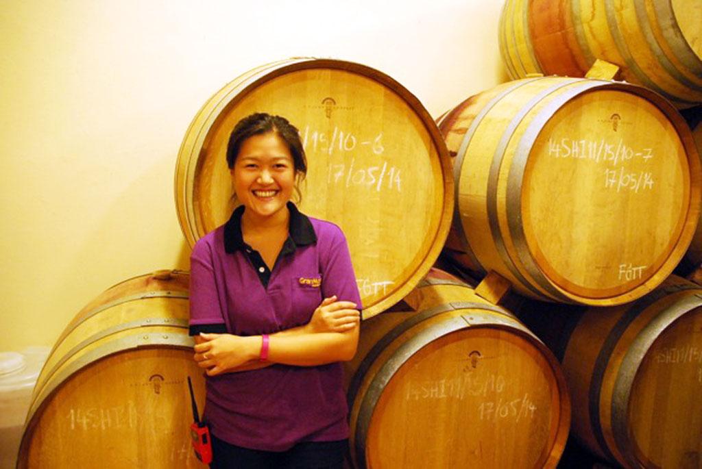 Granmonte's nikki lohitnavy, Thailand Winery