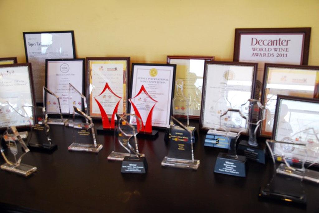 Granmonte winery Awards