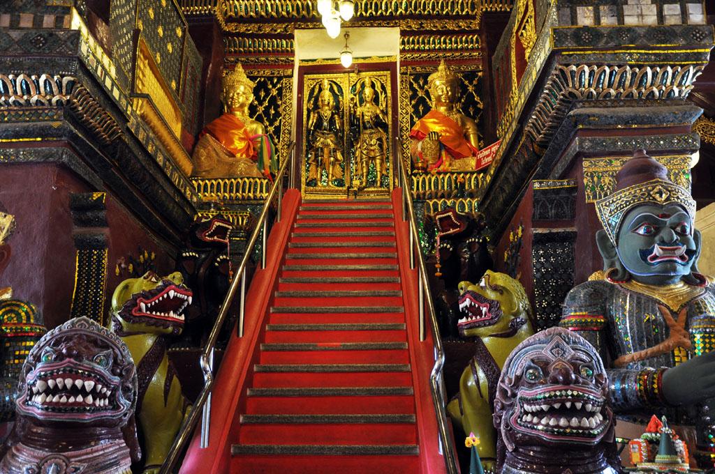 Thai Temple in Nakhon Si Thammarat