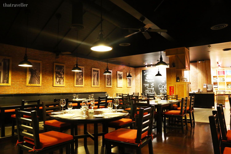Brazilian Restaurant, Movenpick Resort, Karon Beach, Phuket, Thailand.