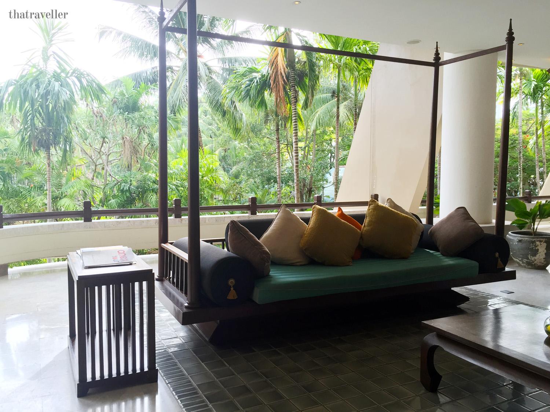 Lobby, Movenpick Resort, Karon Beach, Phuket, Thailand.