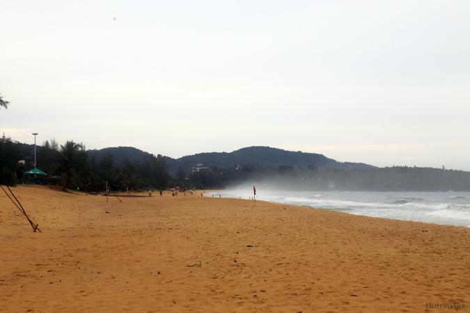 What to do in phuket when it rains: Caron Beach