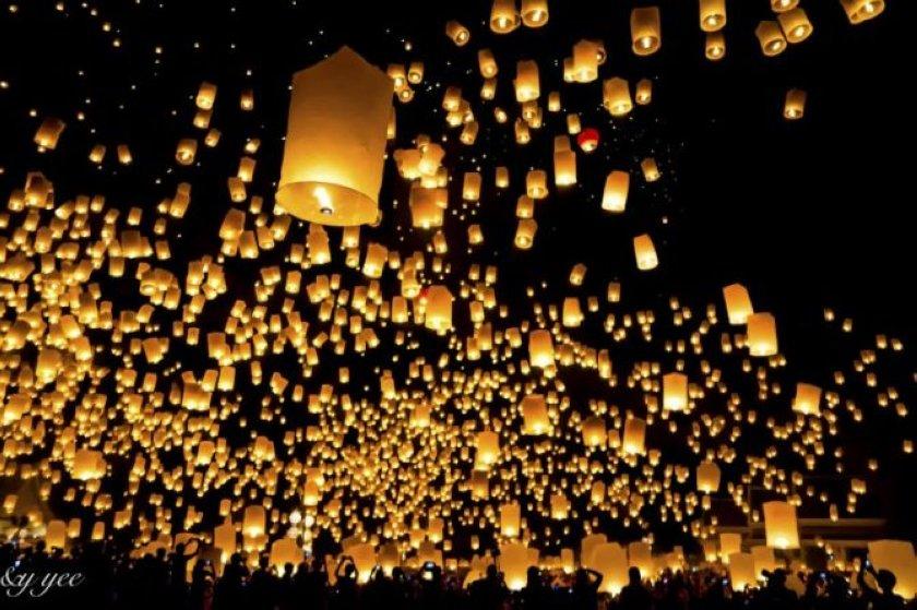 Photography tips for the Yi Peng Sky Lantern Festival