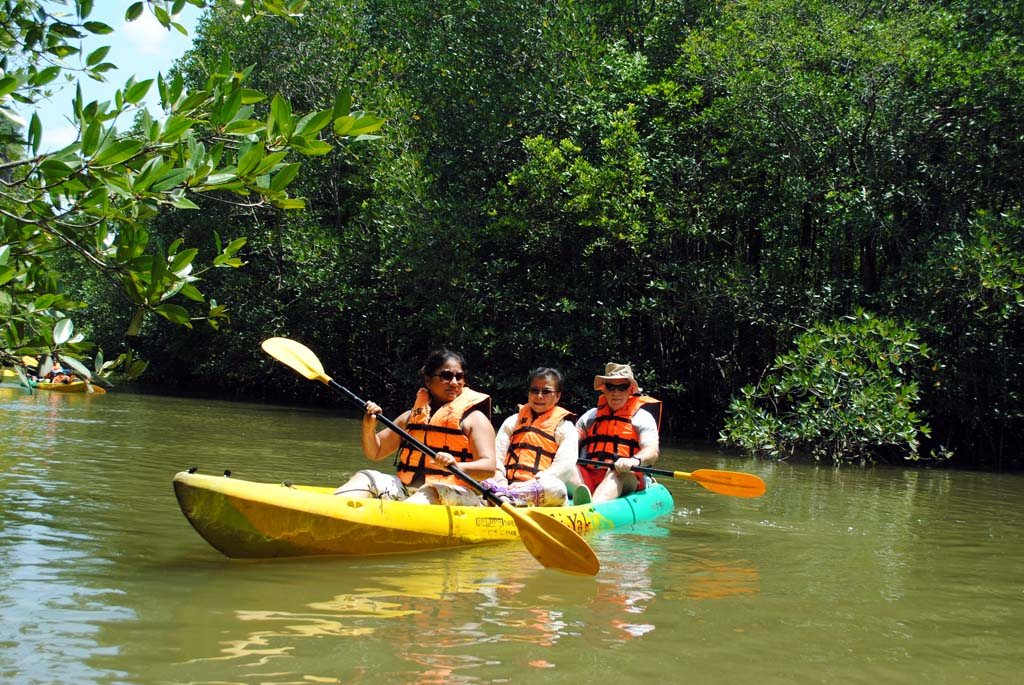 Krabi Eco Tours - Koh Klang kayaking