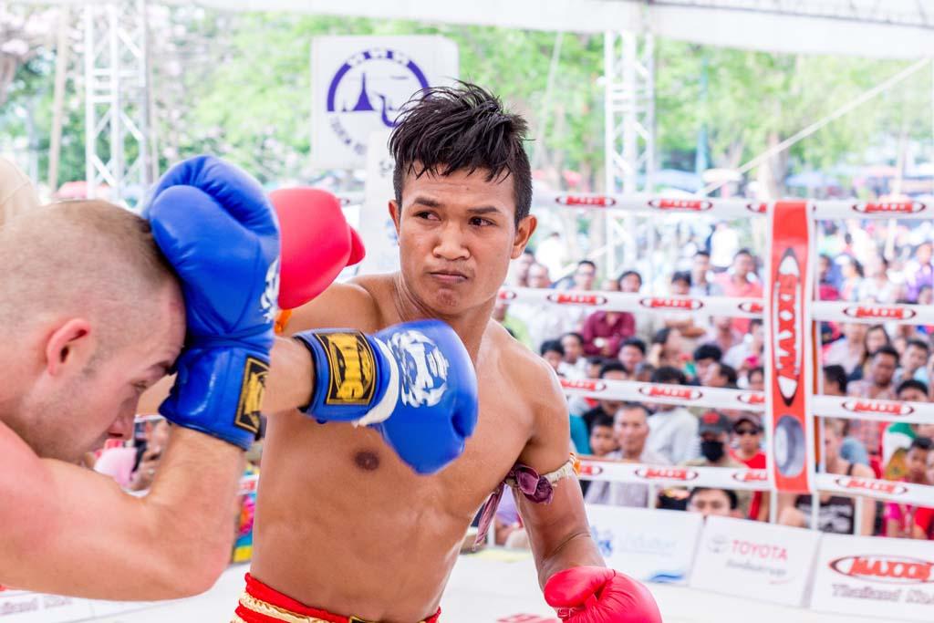 The Wai Kru Muay Thai ceremony boxers
