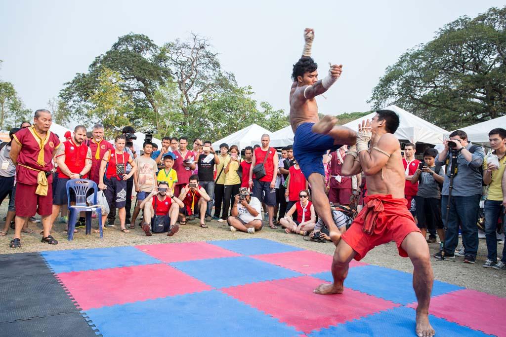 The Wai Kru Muay Thai ceremony fight 2