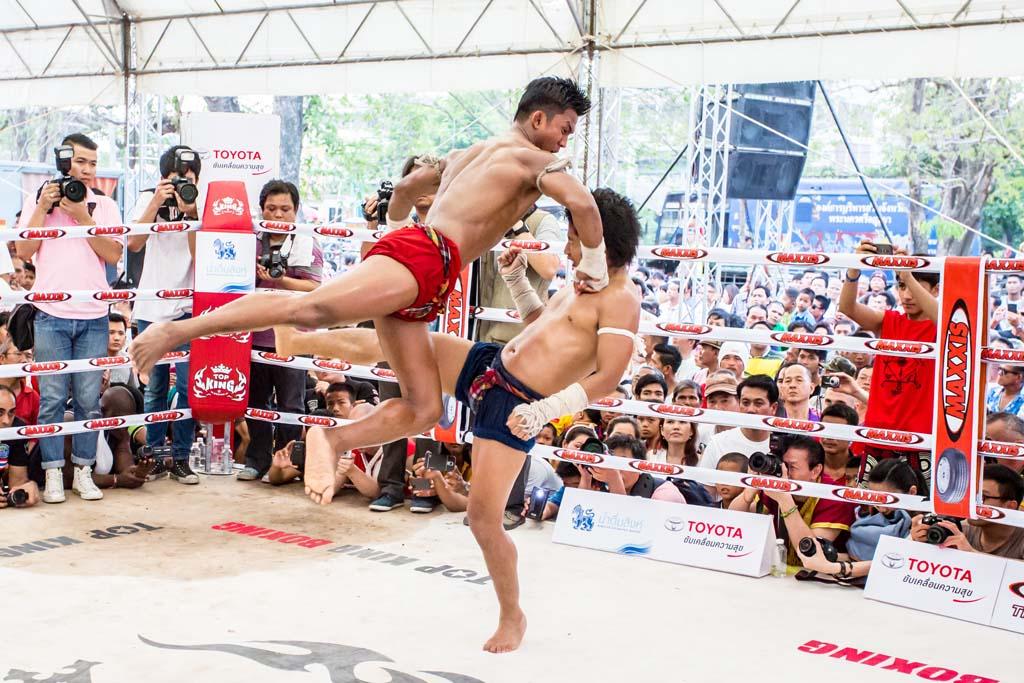 The Wai Kru Muay Thai ceremony fight