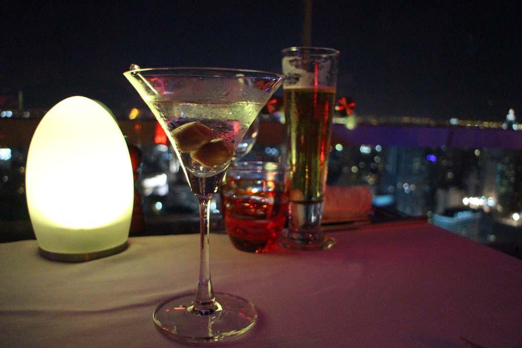 Redsky martini