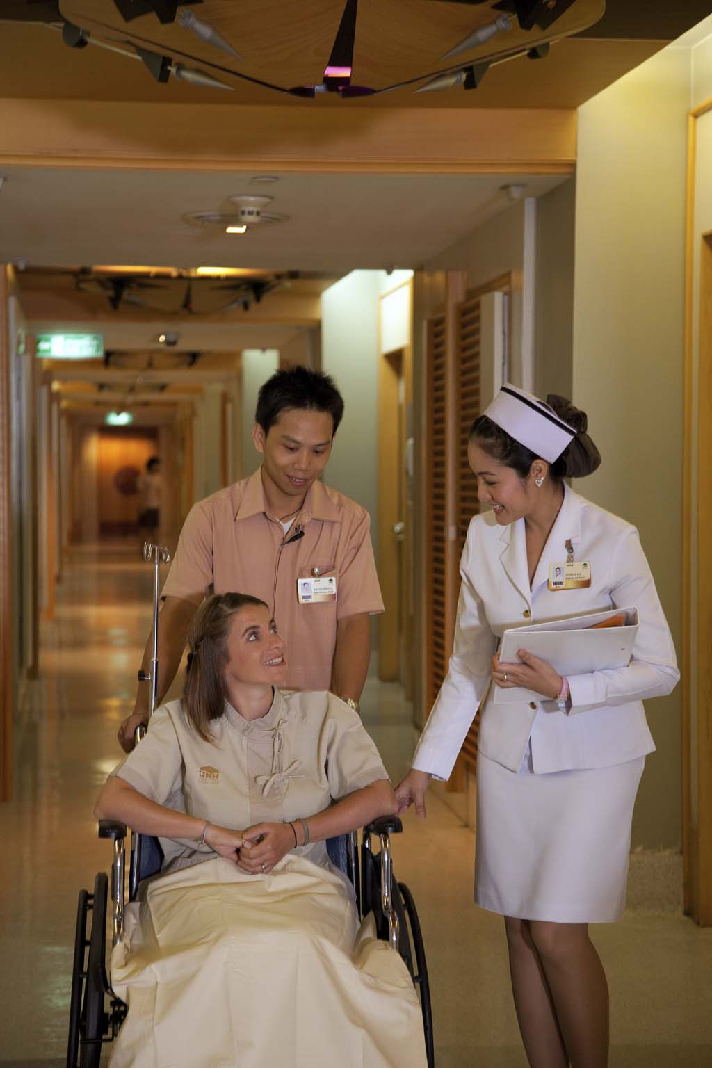 Medical Tourism Thailand - patient in wheelchair