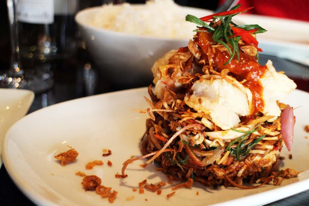 Thai Food Sydney, Spice I Am, Coconut prawn salad