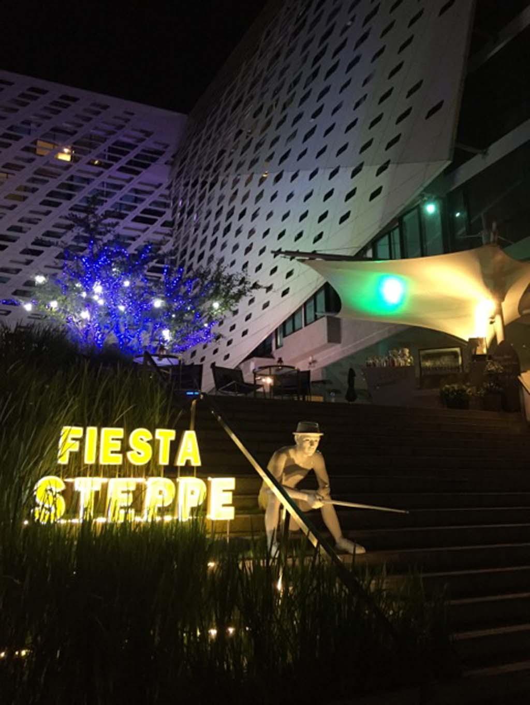 Fiesta Step Bar, The Lit Bangkok, hotel review