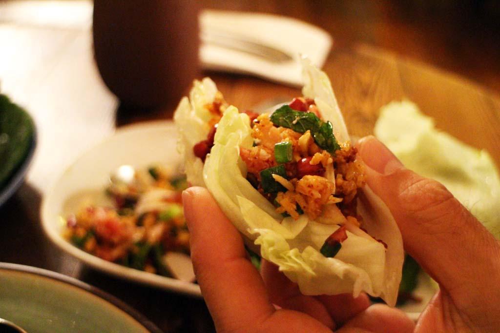 Thai Food Sydney, Spice I Am, Nam khao tod
