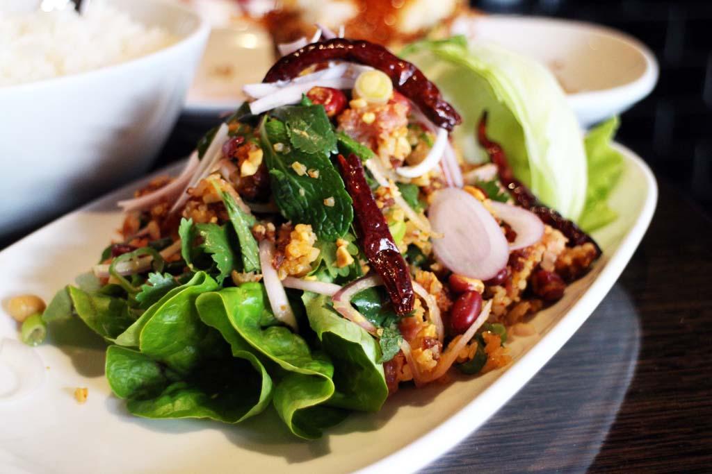 Thai Food Sydney, Spice I Am, Spicy pork salad