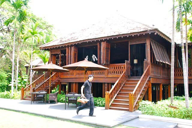 The original teak house, 137 Pillars House, Chiang Mai