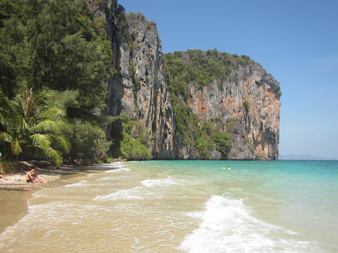 01 Camping thailand beach - Koh Laoliang