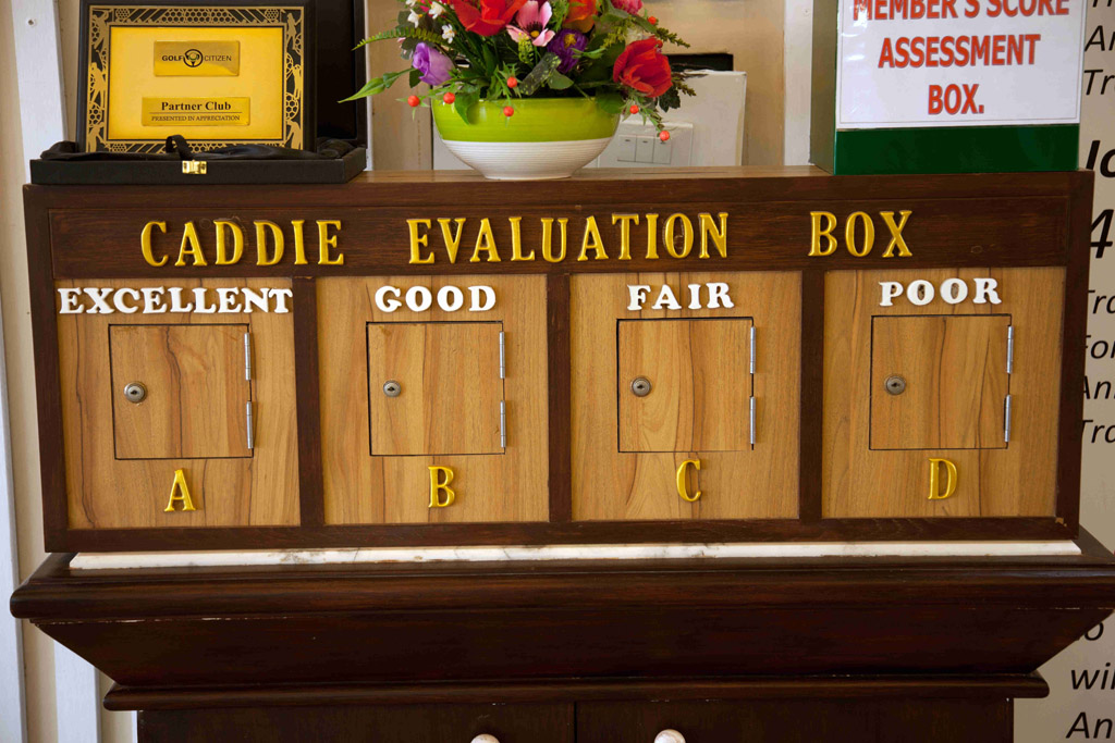 Caddie evaluation, Hua Hin