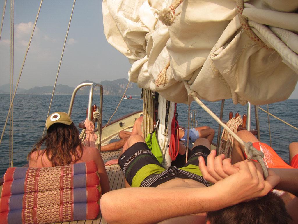 Sailing in Krabi