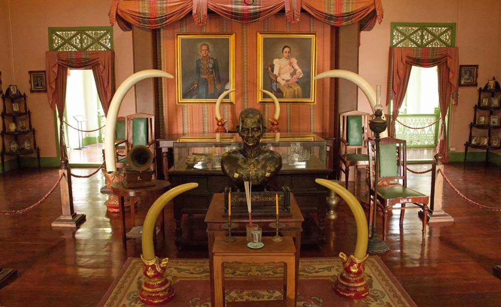 Chao Luang Residence, home of last Prince and Governor of Phrae.