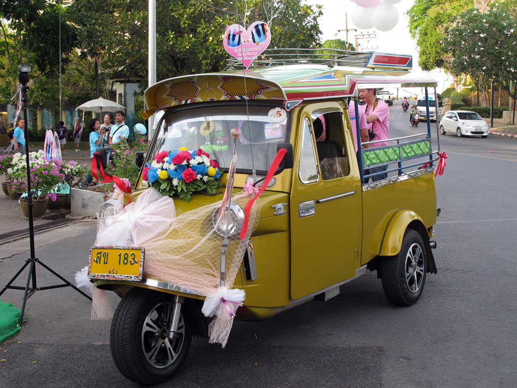 Traditinal Trang tuk tuk