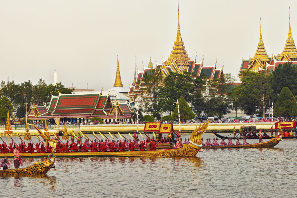 Thai Festivity- The Royal Barge Procession