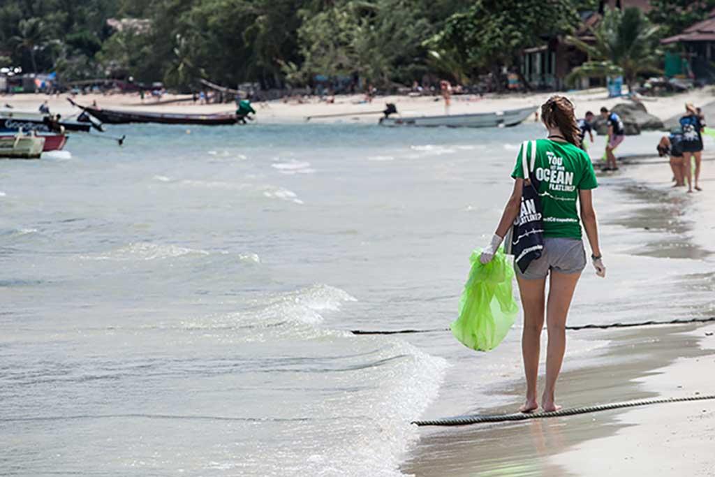 Trash Hero Sairee Beach Ko Tao