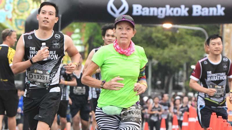 Fiona Harper Bangkok Marathon