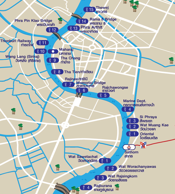 Chao-Phraya-River-Map