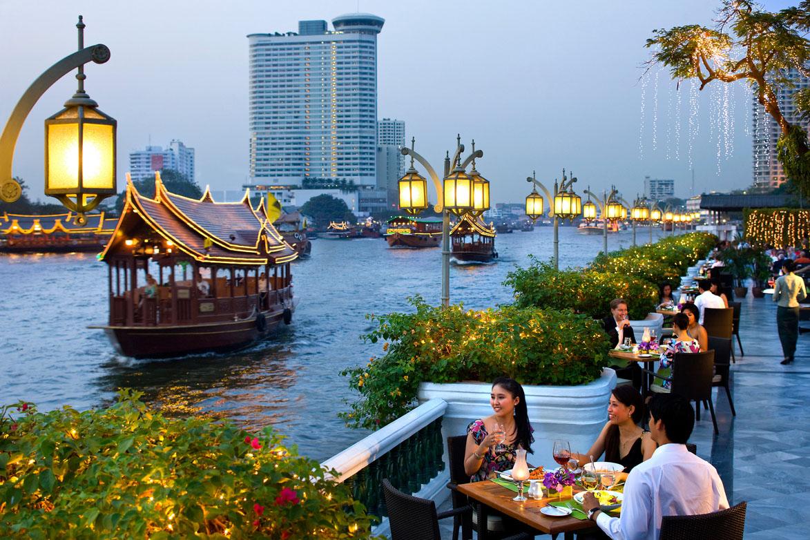 Mandarin Oriental, The Verandah, Bangkok