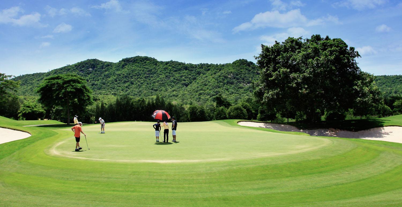 Black Mountain golf course, Hua Hin