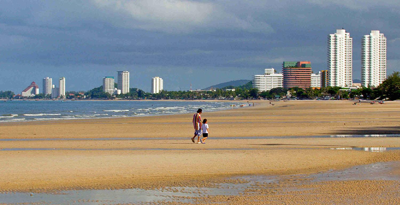 Hua Hin shoreline