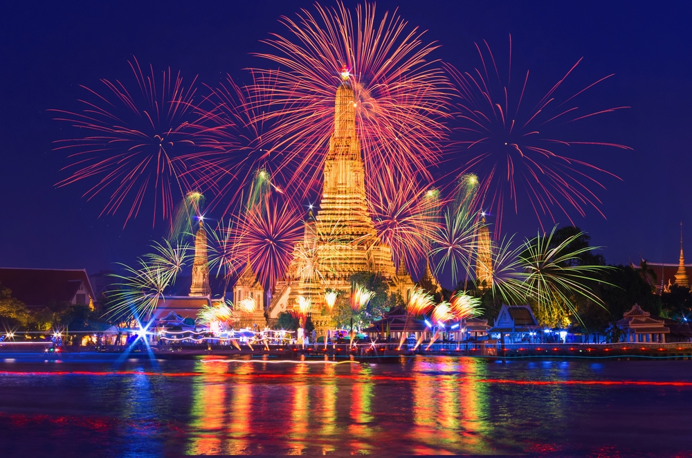 New Years Eve Bangkok shutterstock_524887834