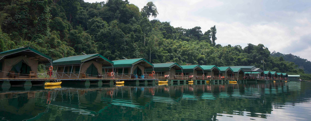 Khao Sok Lake Raft House Elephant Hills