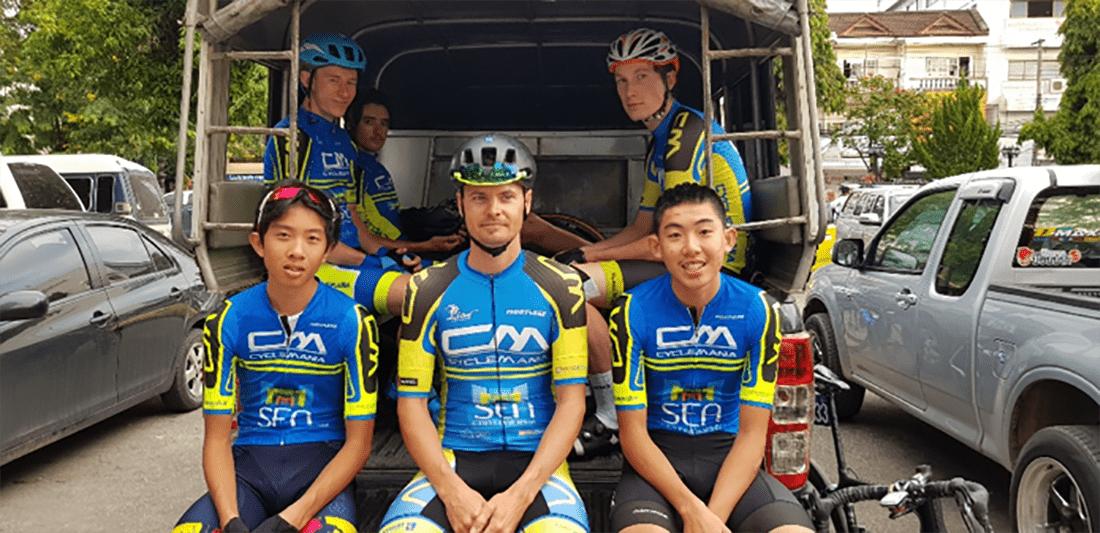 Thailand Cycling tour Chiang Rai Cyclist group