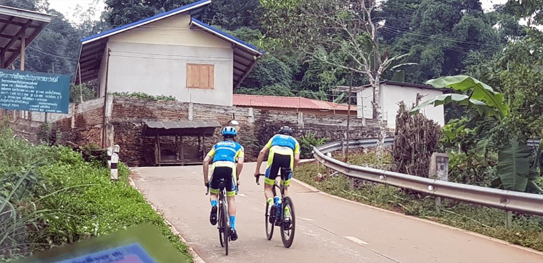 Thailand Cycling tour Chiang Rai village