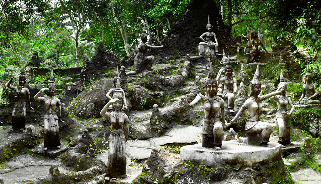 Ko Samui Secret Buddha Garden