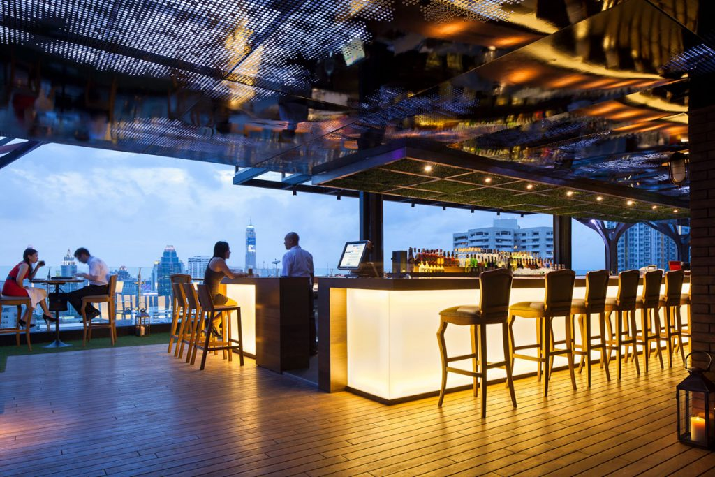 Bangkok Best rooftop Bars Fraser Suites Sukhumvit Above Eleven Rooftop Bar