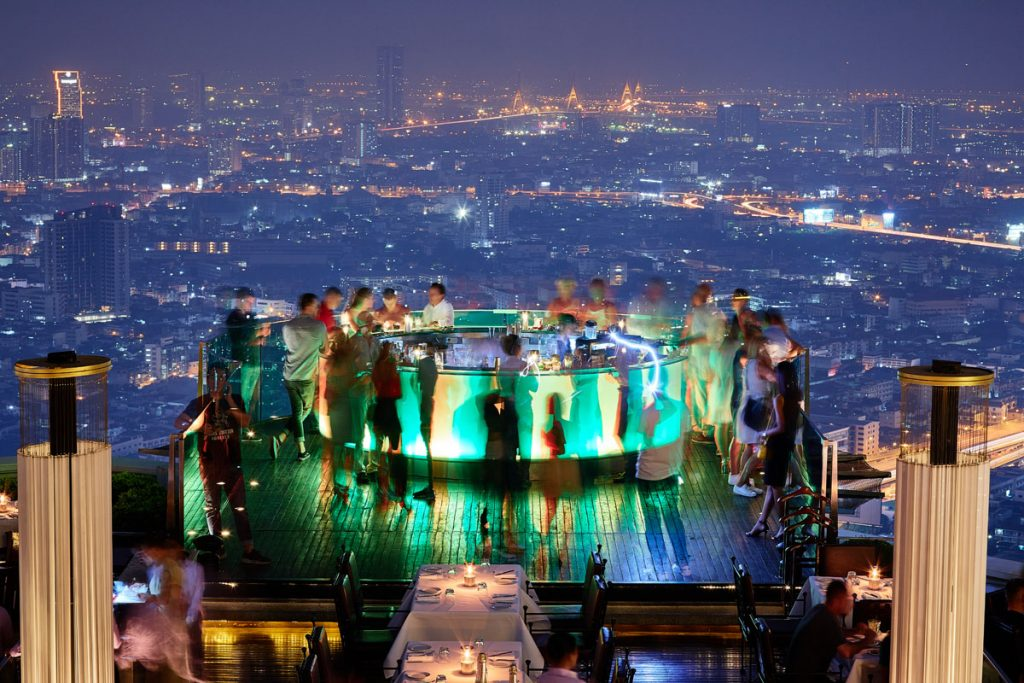 Bangkok-Best-rooftop-Bars-Sky-Bar-by-Lebua-green-bar-with-city-skyline-view