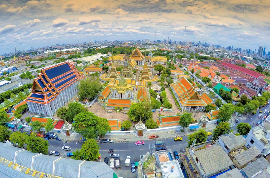 Bangkok Old Town Rattanakosin Wat Pho