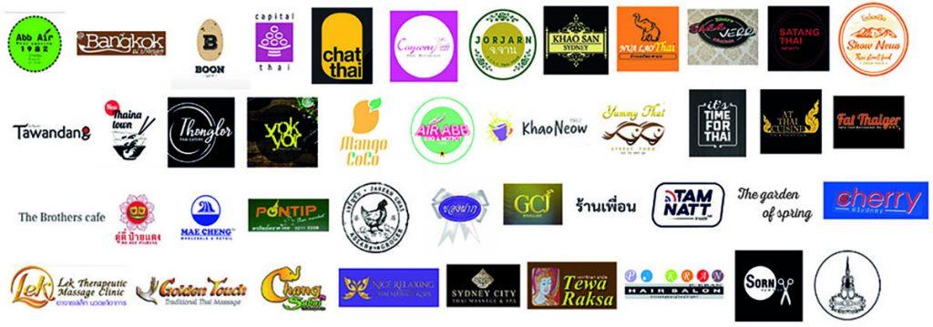 Thai Town Lunar Week Participating Members
